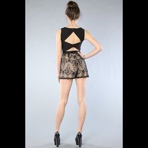NWOT Finders Keepers Electric Kiss Playsuit